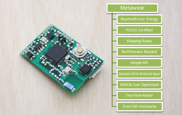 MetaWear: Production Ready Wearables in 30 Min or Less